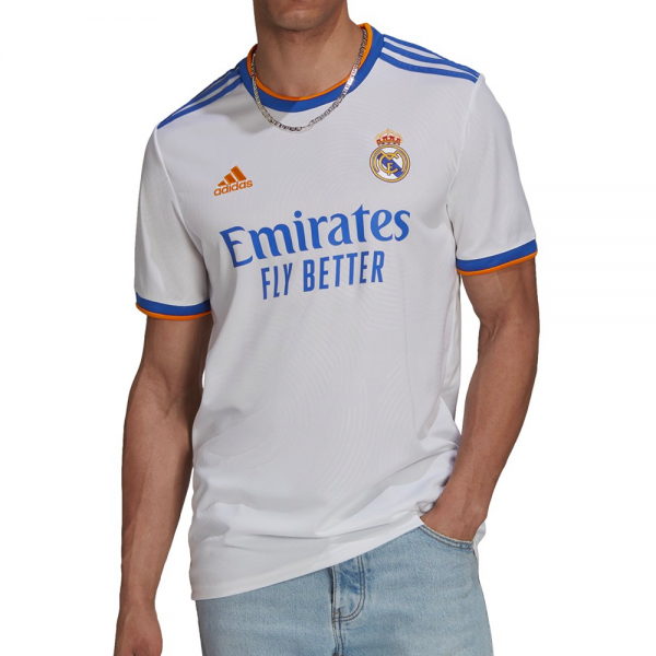 Adidas Real Madrid Home Soccer Jersey '21-'22 (White)