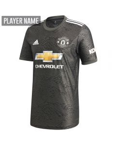 Adidas Manchester United Away Jersey '20-'21 (Legacy Green/Black)