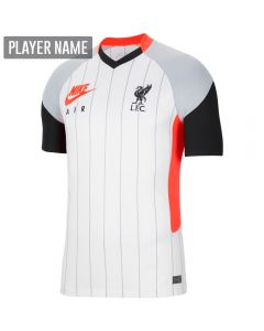 Nike Liverpool Air Max Soccer Jersey '20-'21 (White/Laser Crimon/Wolf Grey/Black)