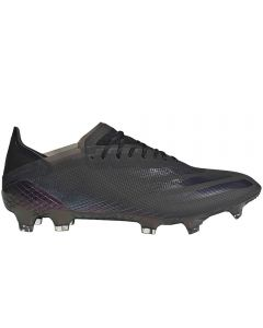Adidas X Ghosted.1 FG Soccer Cleats (Core Black/Core Black/Grey Five)