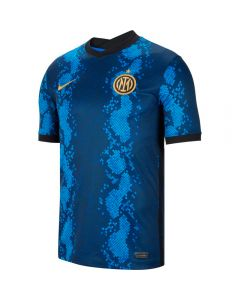 Nike Inter Milan Home Soccer Jersey '21-'22 (Blue Spark/Truly Gold)