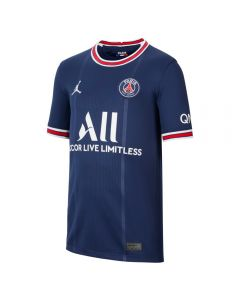 Nike PSG Home Youth Soccer Jersey '21–'22 (Midnight Navy/University Red/White)