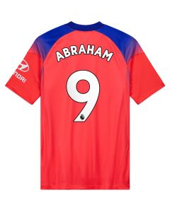 Nike Chelsea 'ABRAHAM 9' Third Jersey '20-'21 (Ember Glow/Concord/White)