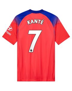 Nike Chelsea 'KANTE 7' Third Jersey '20-'21 (Ember Glow/Concord/White)