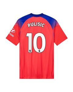 Nike Youth Chelsea 'PULISIC 10' Third Jersey '20-'21 (Ember Glow/Concord/White)