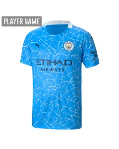 Puma Youth Manchester City Home Jersey '20-'21 (Team Light Blue/Peacoat)