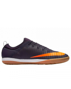 Nike MercurialX Finale II IC Indoor Soccer Shoes (Purple Dynasty/Bright Citrus)