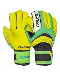 Reusch RE:PULSE Prime G2 Ortho-Tec GK Gloves (Green Gecko/Safety Yellow)