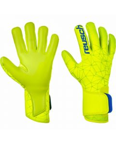 Reusch Pure Contact II S1 GK Gloves (Lime/Safety Yellow)