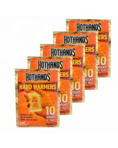 Hot Hands Hand Warmers - 5 pack