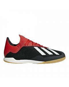 Adidas X Tango 18.3 Indoor Soccer Shoes (Core Black/Off White/Active Red)