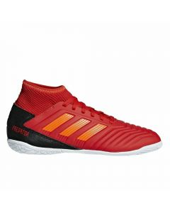 Adidas Predator 19.3 Youth Indoor Soccer Shoes (Active Red/Solar Red/Core Black)