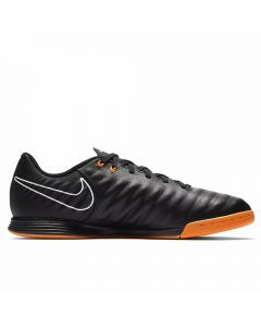 Nike Youth Tiempo LegendX VII Academy IC Indoor Soccer Shoes (Black/Total Orange/White)
