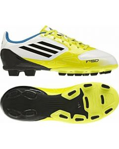 Adidas F5 TRX FG Youth Soccer Cleats (Running White/Black/Lab Lime)