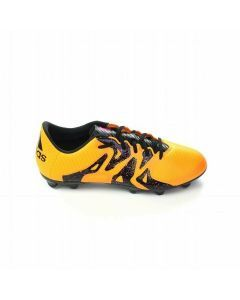 Adidas X 15.3 Youth FG/AG Soccer Cleats (Solar Gold/Black/Shock Pink)