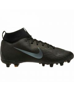 Nike Youth Superfly VI Academy MG Soccer Cleats (Black)