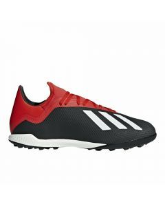 Adidas X Tango 18.3 TF Turf Soccer Shoes (Core Black/Off White/Active Red)