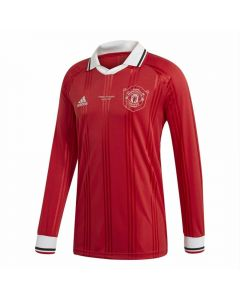 Adidas Manchester United Icons L/S Retro Jersey (Real Red)