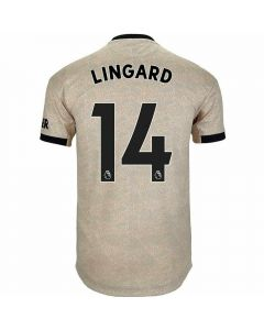 Adidas Manchester United 'LINGARD 14' Away Authentic Jersey '19-'20 (Linen)