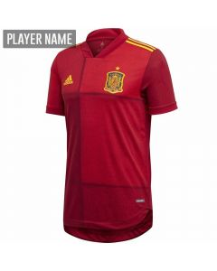 Adidas Spain Home Authentic Jersey 2020 (Victory Red)
