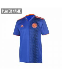 Adidas Youth Colombia Away Jersey '18-'19 (Bold Blue/Solar Red)