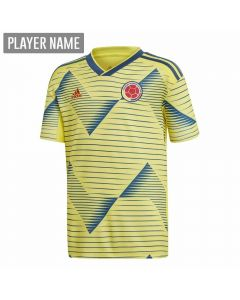 Adidas Youth Colombia Home Jersey 2019 (Light Yellow/Night Marine)