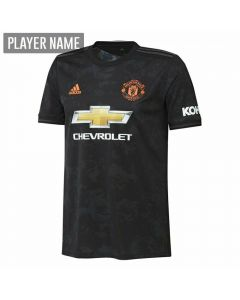 Adidas Youth Manchester United Third Jersey '19-'20 (Black)