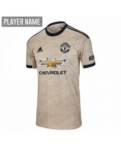 Adidas Youth Manchester United Away Jersey '19-'20 (Linen)
