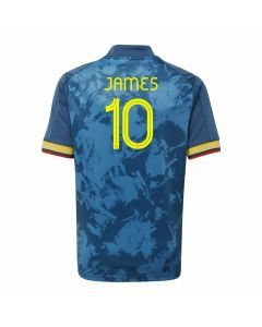 Adidas Youth Colombia 'JAMES 10' Away Jersey 2020 (Night Marine)