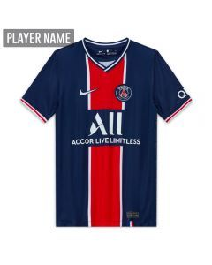 Nike Youth PSG Home Jersey '20-'21 (Midnight Navy/White)