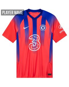 Nike Chelsea Third Jersey '20-'21 (Ember Glow/Concord/White)