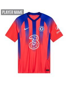 Nike Youth Chelsea Third Jersey '20-'21 (Ember Glow/Concord/White)