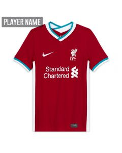 Nike Youth Liverpool Home Jersey '20-'21 (Gym Red/White)