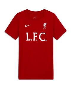 Nike Youth Liverpool FC T-Shirt (Gym Red)