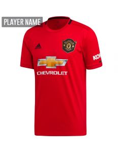 Adidas Manchester United Home Jersey '19-'20 (Real Red)