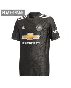 Adidas Youth Manchester United Away Jersey '20-'21 (Legacy Black/Green)