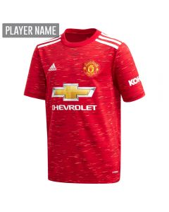 Adidas Youth Manchester United Home Jersey '20-'21 (Real Red)