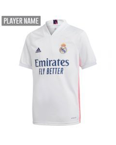 Adidas Youth Real Madrid Home Jersey '20-'21 (White)