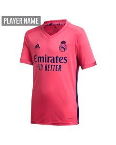 Adidas Youth Real Madrid Away Jersey '20-'21 (Spring Pink)