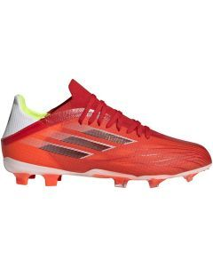 Adidas X Speedflow.1 FG Youth Soccer Cleats (Red/Core Black/Solar Red)