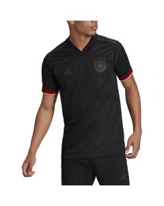 Adidas Germany '20-'21 Away Soccer Jersey (Black/Carbon)