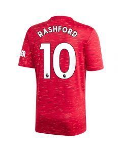 Adidas Manchester United 'RASHFORD 10' Home Jersey '20-'21 (Real Red)