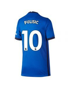 Nike Youth Chelsea 'PULISIC 10' Home Jersey '20-'21 (Rush Blue/White)