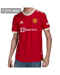 Adidas Manchester United Authentic Soccer Jersey '21-'22 (Real Red)