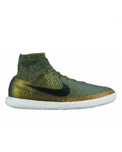 Nike MagistaX Proximo IC Indoor Soccer Shoes (Dark Citron/White/Volt/Black)