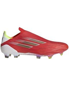Adidas X Speedflow+ FG Soccer Cleats (Red/Core Black/Solar Red)
