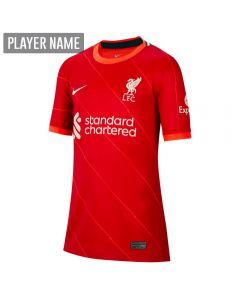 Nike Liverpool Home Youth Soccer Jersey '21–'22 (Gym Red/Bright Crimson/Fossil)