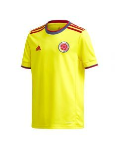 Adidas Colombia '20-'21 Home Youth Soccer Jersey (Bright Yellow)