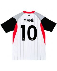 Nike Liverpool 'MANE 10' Air Max Youth Soccer Jersey '20-'21 (White/Laser Crimon/Wolf Grey/Black)